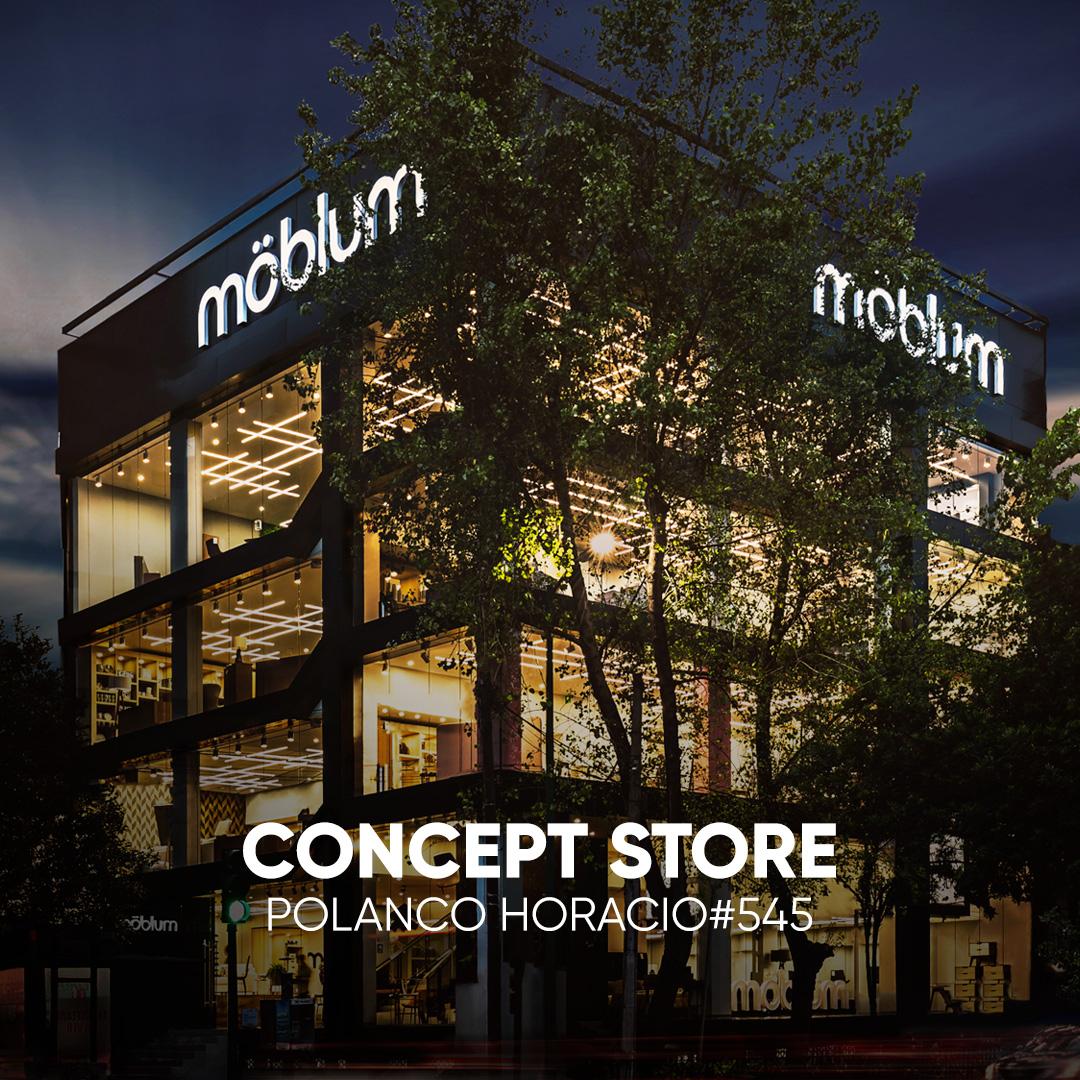 möblum concpt store en Polanco