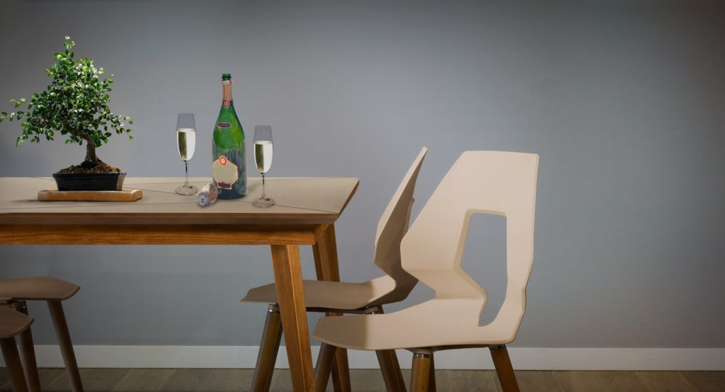 Año nuevo y muebles nuevos