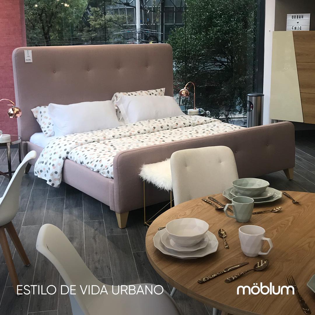 Cama rouse y accesorios en moblum concept store #Horacio545