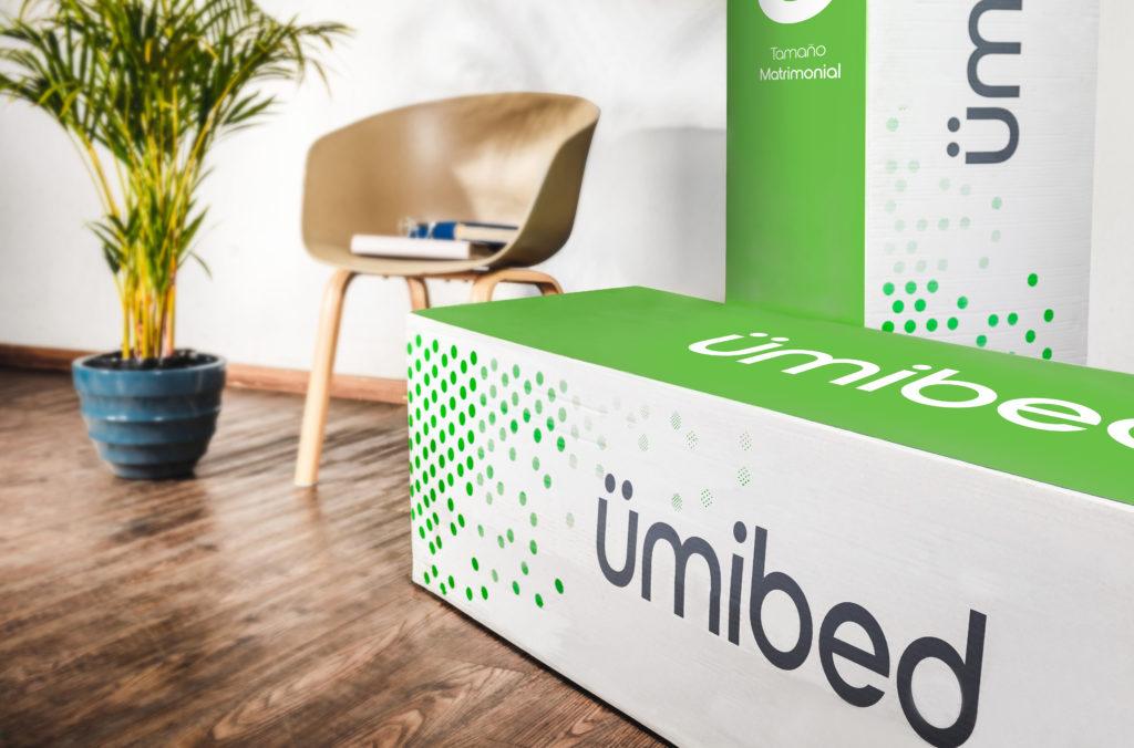 umibed, nuestro colchón en caja con tela de bambú